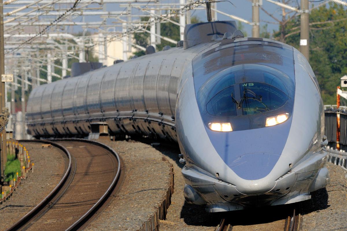 500系新幹線。